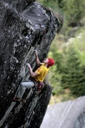 2010, April: Vibrazioni squilibrate 8c+/9a (Italy, Val Masino)