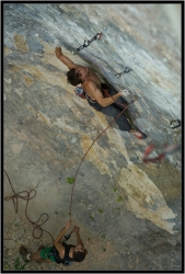 2010 August: Harry 8c/c+, first ascent (Guamka, Russia)
