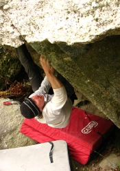 try bouldering for Melloblocco