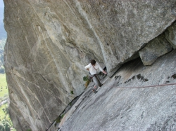 Val Masino, day of rest: multipitch